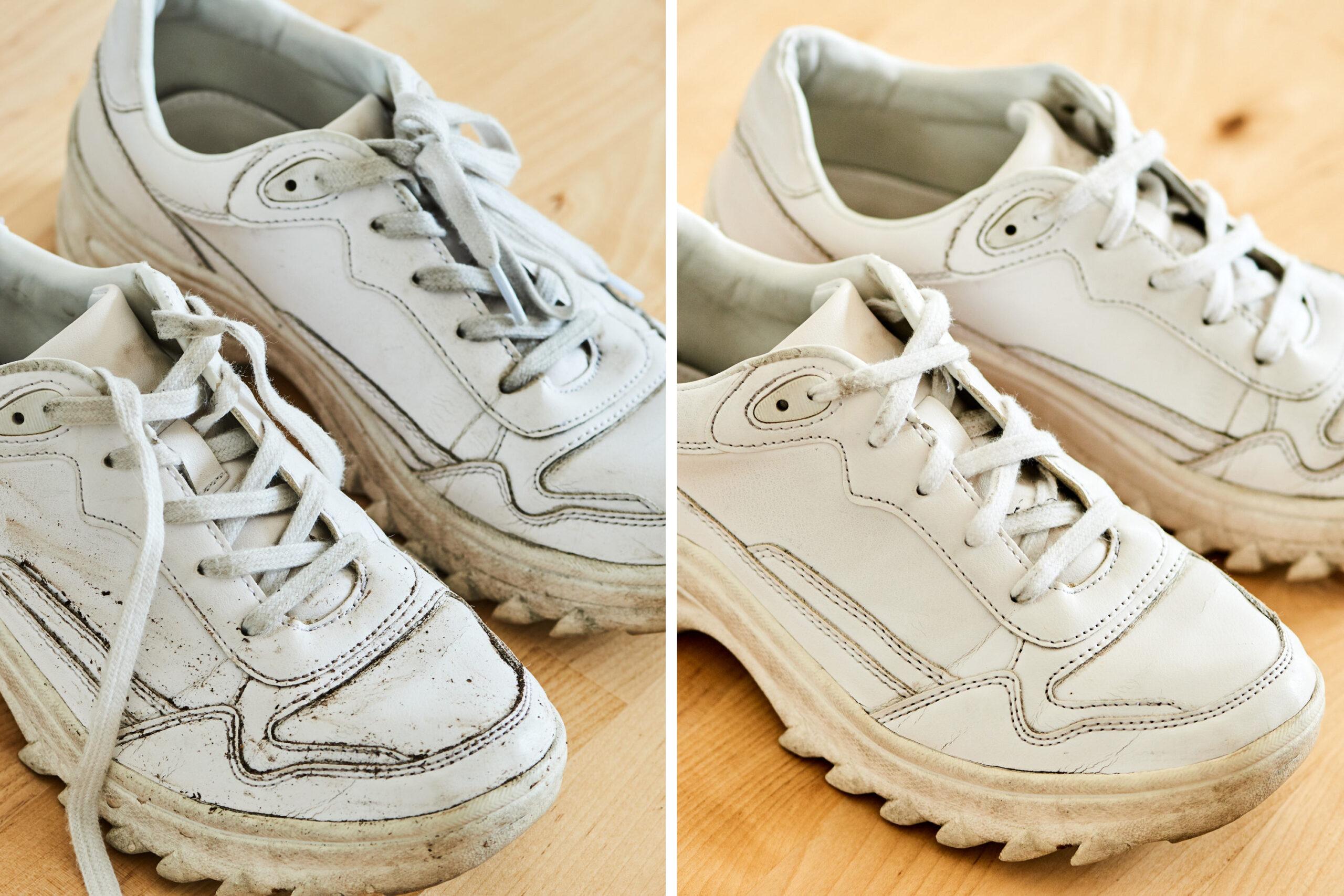 Consejos y trucos para limpiar calzado blanco