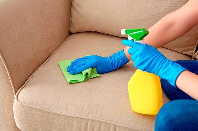 Limpia tus muebles de tela con Bicarbonato