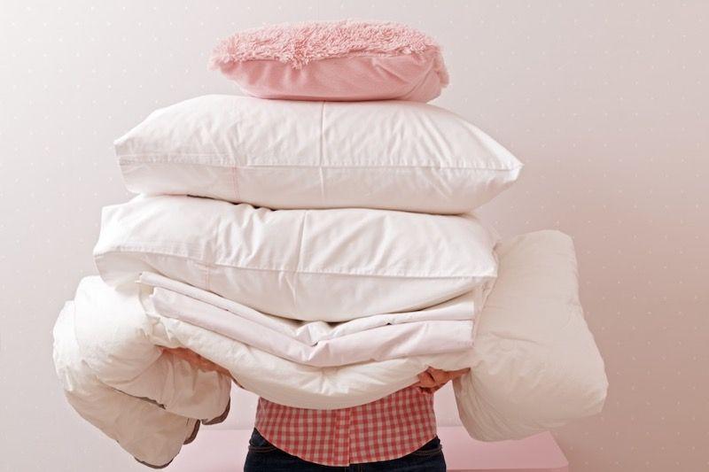 Cómo limpiar y cuidar adecuadamente la ropa de cama en las que duerme