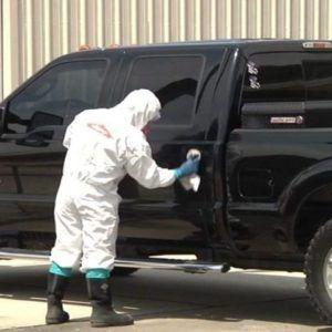 Desinfección Camionetas